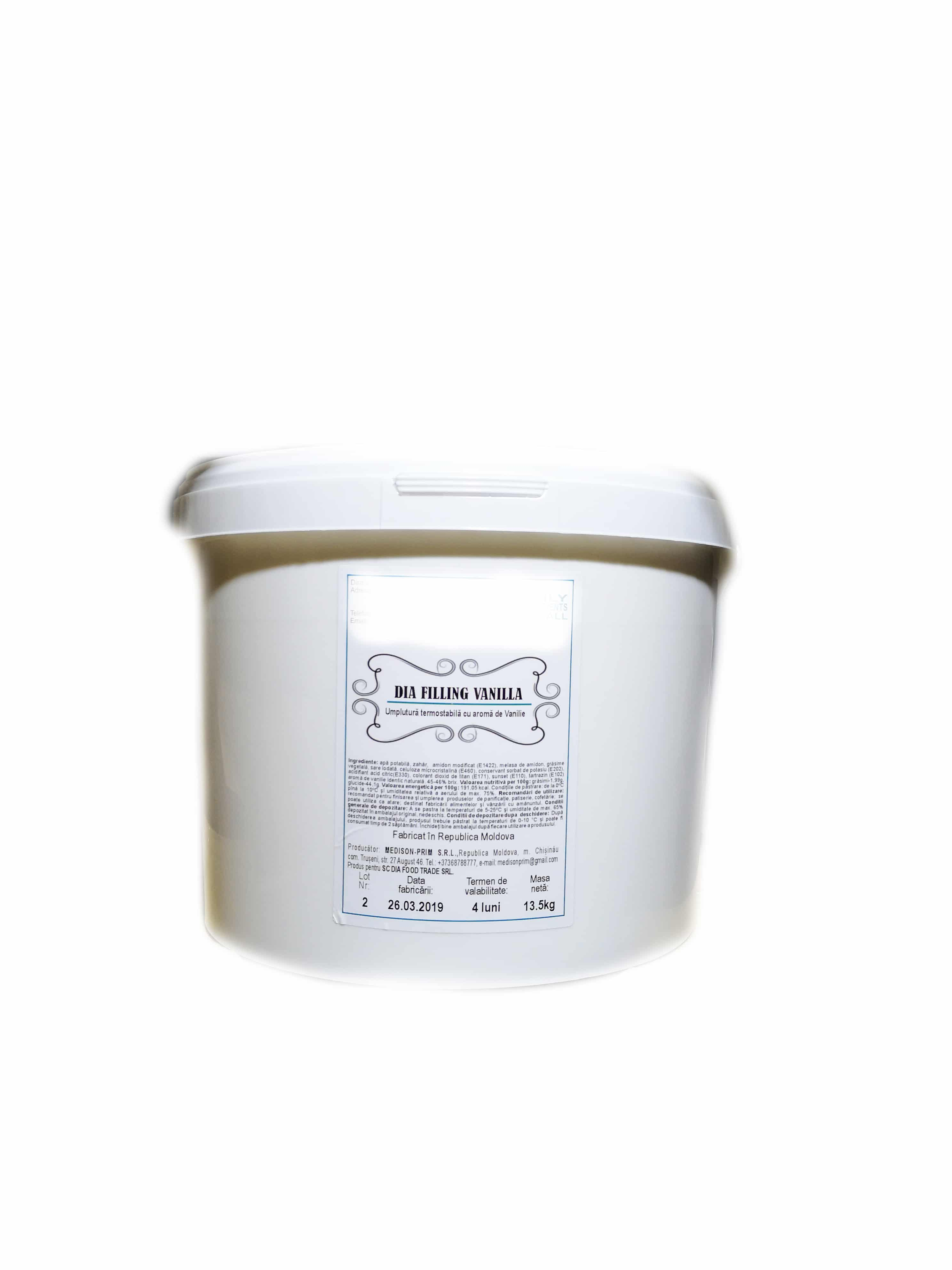 Crema vanilie 13.5KG